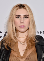 Zosia Mamet looked trendy with her center-parted layered cut at the Tribeca Film Fest premiere of 'The Boy Downstairs.'