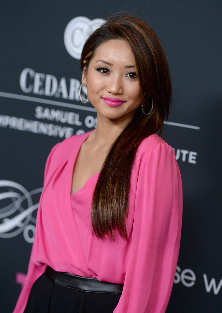 Brenda Song Long Straight Cut Brenda Song Looks