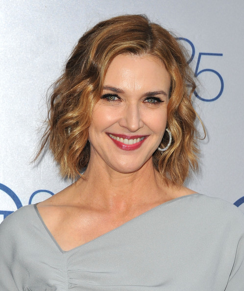 Brenda Strong Red Lipstick [hair,face,hairstyle,eyebrow,blond,facial expression,chin,lip,skin,shoulder,anniversary party - arrivals,brenda strong,25th anniversary partyat the beverly hilton hotel,beverly hills,california,tnt]