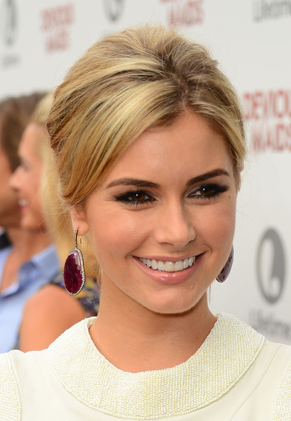 Brianna Brown Bobby Pinned Updo