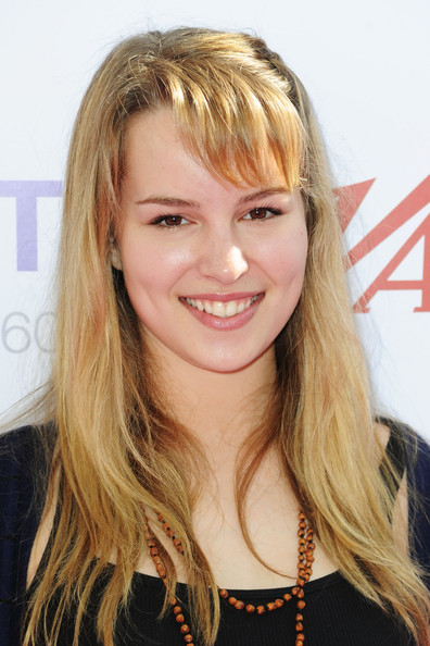 Bridgit Mendler Long Straight Cut with Bangs