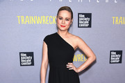 Brie Larson One Shoulder Dress
