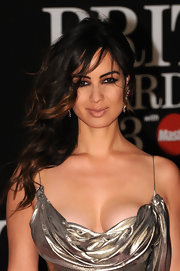 Berenice Marlohe's loose curls looked undone yet elegant at the 2013 Brits.