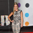 Denise van Outen in Silver Print