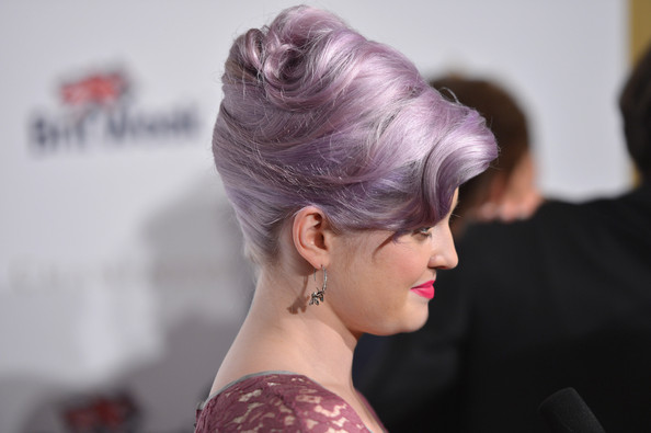 More Pics of Kelly Osbourne French Twist (5 of 31) - French Twist Lookbook - StyleBistro