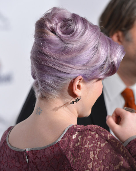 More Pics of Kelly Osbourne French Twist (6 of 31) - Updos Lookbook - StyleBistro