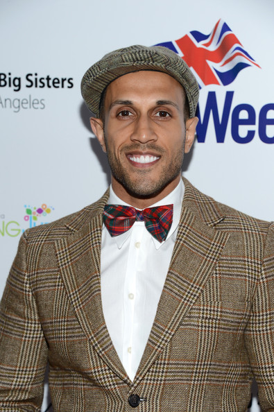 Stephen Uppal went matchy-matchy at the BritWeek Celebrates Downton Abbey event with this tweed jacket and ivy cap combo.