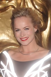 Pollyanna Woodward rocked a casual messy updo at the British Academy Games Awards.