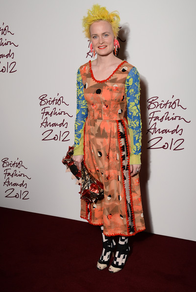Louise Gray at the 2012 British Fashion Awards