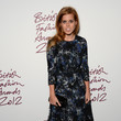 Princess Eugenie at the 2012 British Fashion Awards