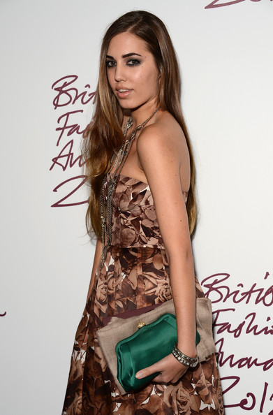 More Pics of Amber Le Bon Print Dress (4 of 4) - Amber Le Bon Lookbook - StyleBistro