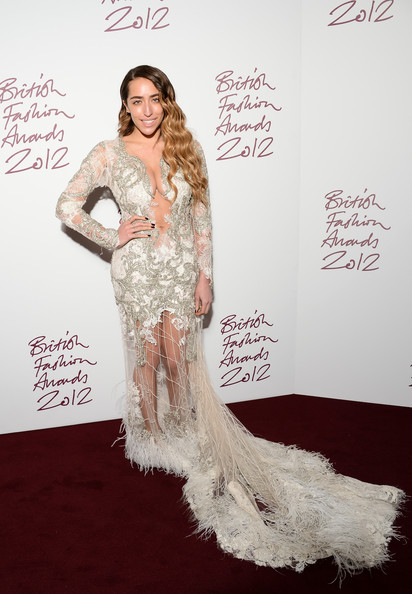 Delilah at the 2012 British Fashion Awards