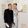 Nicola Formichetti and Daphne Guinness