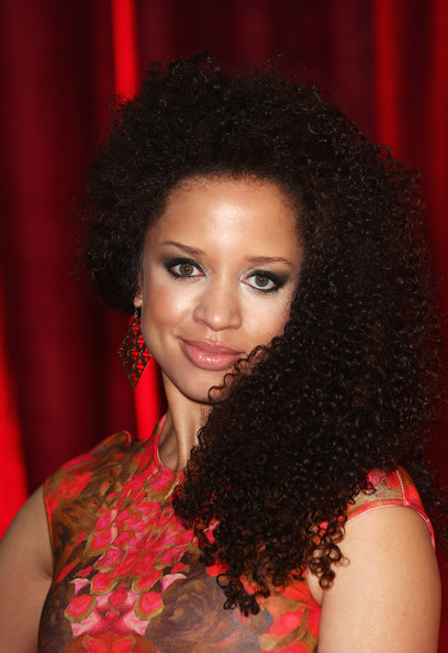More Pics of Natalie Gumede Long Curls (1 of 3) - Long Curls Lookbook - StyleBistro