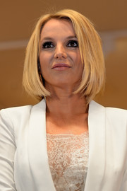 Britney Spears debuted this cute bob along with her Intimate Collection.