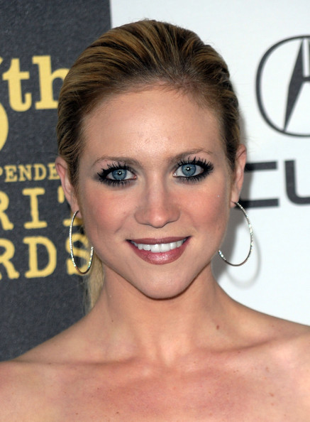 Brittany Snow Sterling Hoops