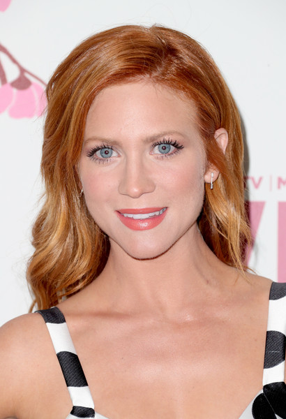 Brittany Snow Long Wavy Cut [film,hair,face,hairstyle,blond,eyebrow,lip,chin,beauty,brown hair,hair coloring,women,brittany snow,women in film 2017 crystal lucy awards,crystal lucy awards,the beverly hilton hotel,beverly hills,bmw,max mara,red carpet]