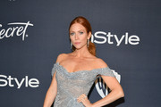 Brittany Snow Off-the-Shoulder Dress