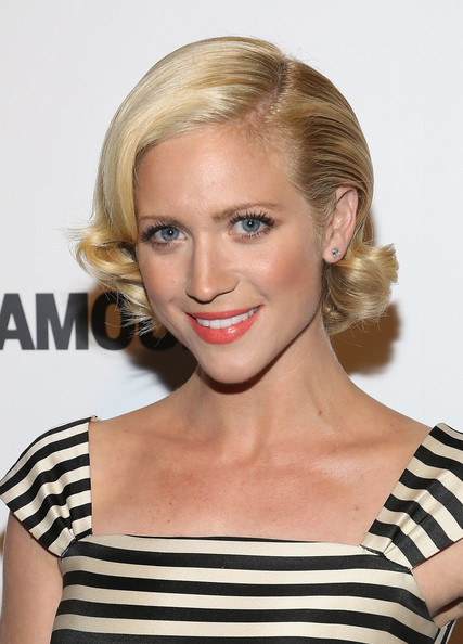 Brittany Snow Short Curls [hair,face,blond,hairstyle,eyebrow,beauty,chin,shoulder,lip,long hair,brittany snow,inspire a difference awards,honoree,new york city,investigation discovery]