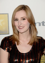 Laura Carmichael's soft strawberry locks looked super sleek and shiny at the Critcs' Choice Television Awards.