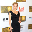 Gillian Anderson's little black dress