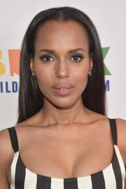 Kerry Washington showed off sleek tresses at the Bronx Children's Museum Gala.