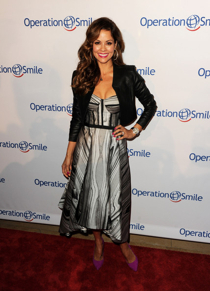 Brooke Burke-Charvet Leather Jacket