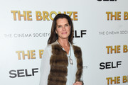 Brooke Shields Leather Clutch