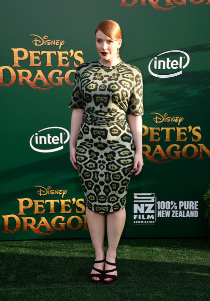 Bryce Dallas Howard Print Dress