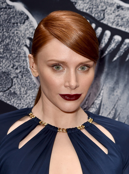 Bryce Dallas Howard Dark Lipstick