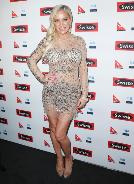 Brynne Edelsten Beaded Dress