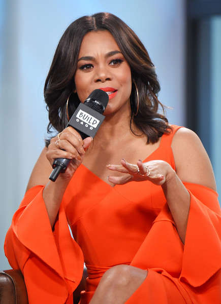 More Pics Of Regina Hall Flip 1 Of 14 Shoulder Length