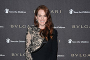 Actress Julianne Moore arrives at the Bvlgari Express for Save The Children Party at Salone delle Fontane, during The 5th International Rome Film Festival, on November 3, 2010 in Rome, Italy.