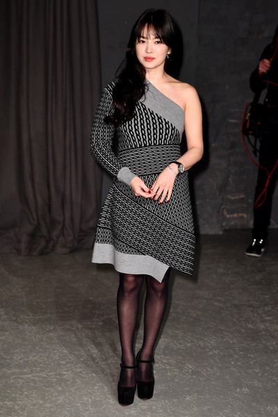 Hye Kyo Song at Burberry