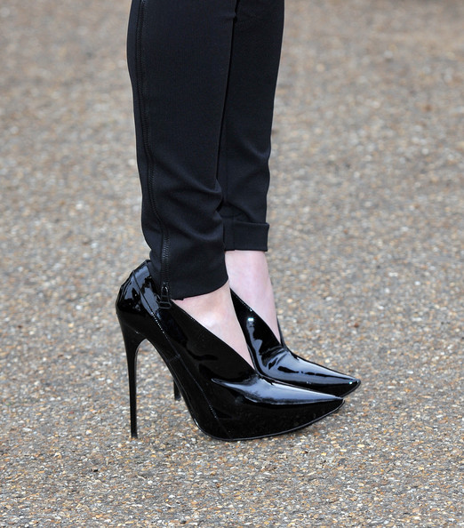 More Pics of Ellie Goulding Ankle Boots (2 of 9) - Ellie Goulding Lookbook - StyleBistro