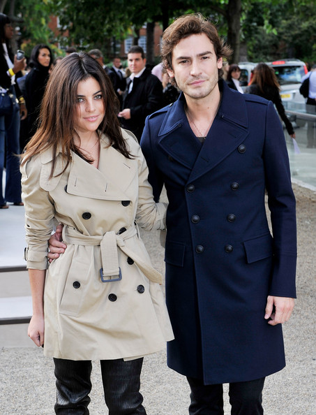 More Pics of Julia Restoin-Roitfeld Trenchcoat (1 of 2) - Julia Restoin-Roitfeld Lookbook - StyleBistro [trench coat,coat,clothing,overcoat,fashion,street fashion,outerwear,event,style,gesture,robert konjic,julia restoin-roitfeld,england,london,burberry prorsum,burberry prorsum spring,l,chelsea college of art and design,lfw spring,fashion show]