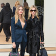 Burberry (with Kate Moss) during London Fashion Week