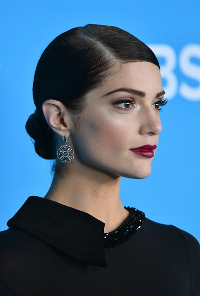 More Pics of Janet Montgomery Platform Pumps (1 of 10) - Heels Lookbook - StyleBistro [hair,face,hairstyle,chin,eyebrow,beauty,lip,cheek,fashion,ear,janet montgomery,premiere party,greystone manor supperclub,west hollywood,california,cbs,premiere party]