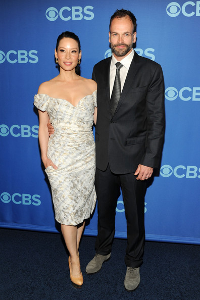 More Pics of Lucy Liu Bobby Pinned Updo (1 of 6) - Lucy Liu Lookbook - StyleBistro