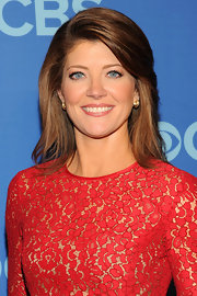Norah O'Donnell opted for a simple 'do with this straight cut.