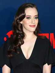 Kat Dennings looked very pretty with her vintage-style curls at the TCA Summer Press Tour party.