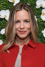 Maria Bello looked stylish with her subtly wavy hairstyle at the Eye Speak Summit.