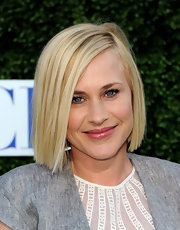Pratrica showed off her blunt cut bob while hitting the CBS party in Hollywood.