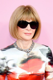Anna Wintour sported her iconic bob at the 2019 CFDA Fashion Awards.