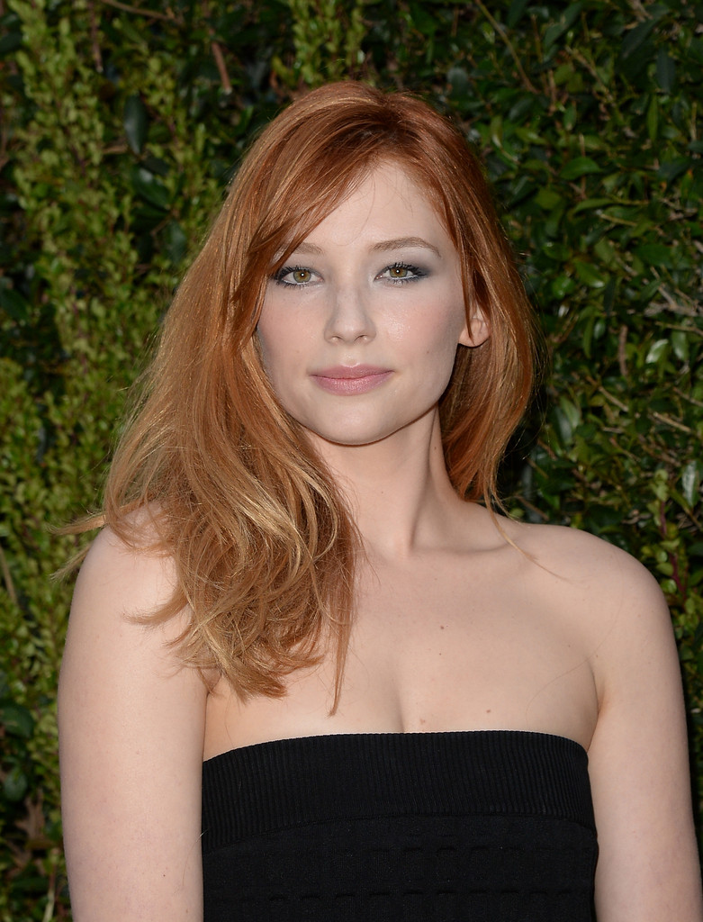 e0cb9e5ed0223 More Pics of Haley Bennett Long Wavy Cut with Bangs (8 of 12) - Hair ...