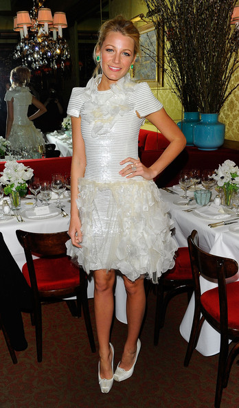 Blake Lively at a dinner hosted by Chanel