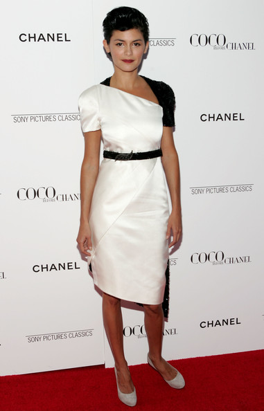 Audrey Tautou at the 'Coco Before Chanel' Premiere