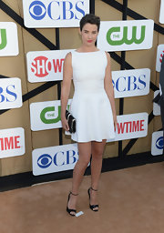 Cobie Smulders made us fall in love with the little white dress all over again!