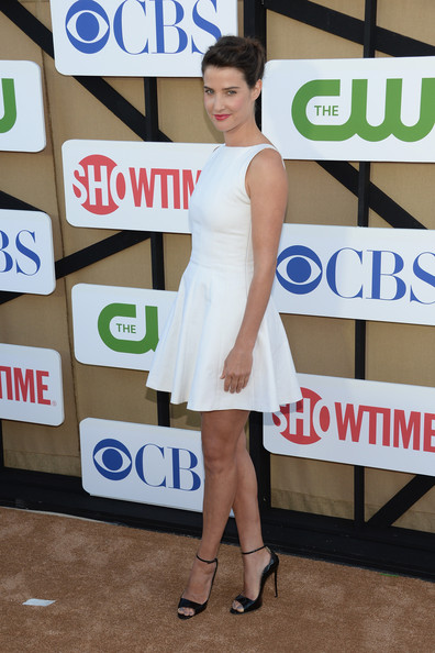 More Pics of Cobie Smulders Bobby Pinned Updo (1 of 6) - Cobie Smulders Lookbook - StyleBistro
