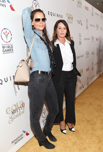More Pics of Katie Holmes Ankle Boots (1 of 9) - Katie Holmes Lookbook - StyleBistro